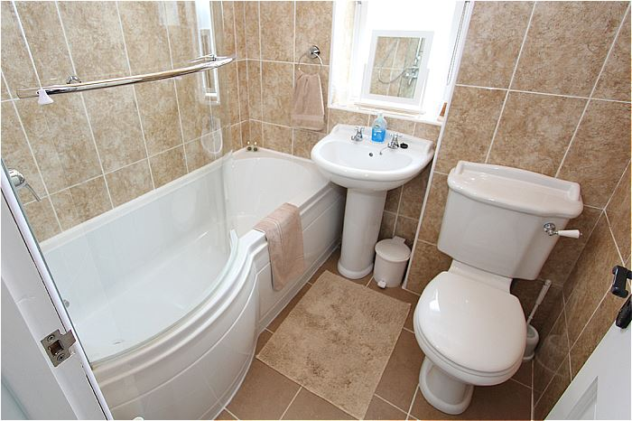 Bathroom, with bath and shower